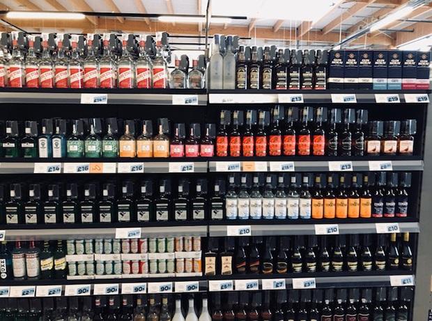 Jack's bws aisle