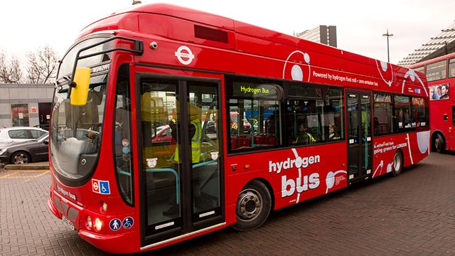 hydrogen london bus